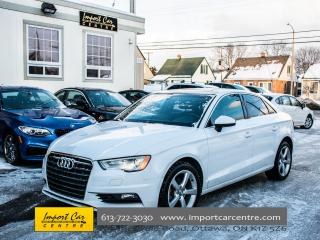 Used 2015 Audi A3 TDI Komfort DIESEL LEATHER PANO ROOF WOW!! for sale in Ottawa, ON