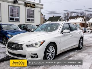 Used 2014 Infiniti Q50 DEXLUXE TOURING W/TECH PKG NAV BLIS WOW!! for sale in Ottawa, ON