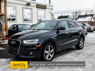 Used 2015 Audi Q3 Progressiv QUATTRO PANO ROOF PWR GATE WOW!! for sale in Ottawa, ON