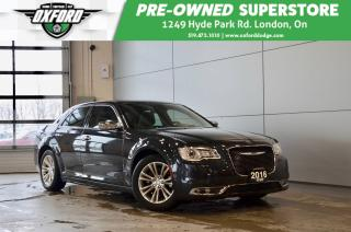 Used 2016 Chrysler 300C one owner, low kms, heated/vented seats for sale in London, ON