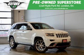 Used 2014 Jeep Grand Cherokee Summit - 4x4, Sunroof, Parksense, trailer hitch for sale in London, ON