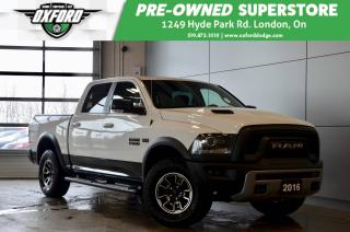 Used 2016 RAM 1500 Rebel - one owner, air ride, tri-fold tonneau for sale in London, ON