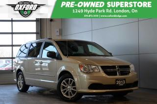 Used 2013 Dodge Grand Caravan SXT Plus - Bluetooth, Touch Screen, Sat Radio for sale in London, ON