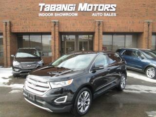 Used 2016 Ford Edge TITANIUM   AWD   NAVIGATION   LEATHER   SUNROOF   REAR CAM for sale in Mississauga, ON