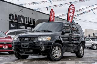 Used 2006 Ford Escape 4dr Limited Auto 4WD for sale in Oakville, ON