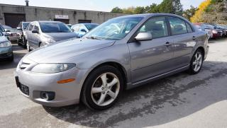 Used 2007 Mazda MAZDA6 2.3L GT AUTO CERTIFIED 2YR WARRANTY ALLOYS AUX  POWER SEAT for sale in Milton, ON