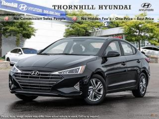New 2019 Hyundai Elantra Preferred  - Heated Seats for sale in Thornhill, ON
