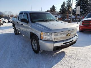 Used 2010 Chevrolet Silverado 1500 LT-CREW-4X4-LOW Monthly PAYMENTS!! for sale in Edmonton, AB