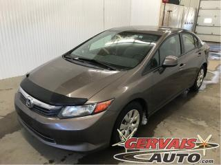 Used 2012 Honda Civic Lx A/c Bluetooth for sale in Trois-Rivières, QC
