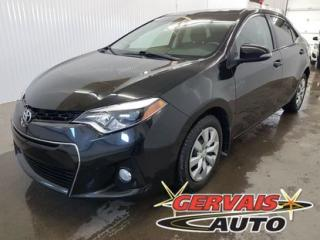 Used 2015 Toyota Corolla S Cuir/tissus A/c for sale in Shawinigan, QC