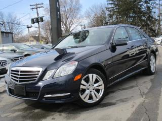 Used 2012 Mercedes-Benz E-Class E300 4MATIC~NAVI~BLIND SPOT~36KMS~SUNROOF~LOW KMS for sale in Burlington, ON