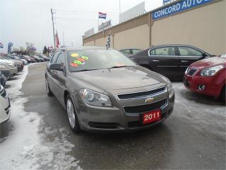 Used 2011 Chevrolet Malibu LS for sale in Breslau, ON