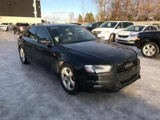 Used 2013 Audi A4 S-Line Quattro Cuir for sale in St-Constant, QC