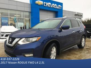 Used 2017 Nissan Rogue SV for sale in St-Raymond, QC