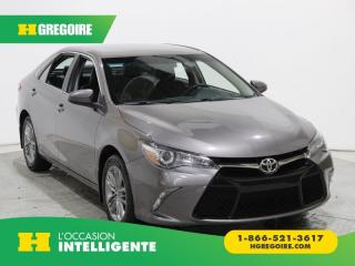 Used 2017 Toyota Camry SE A/C GR ELECT for sale in St-Léonard, QC