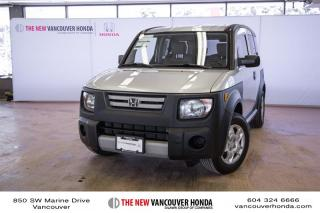 Used 2008 Honda Element LX 5sp 2WD for sale in Vancouver, BC