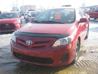 Used 2011 Toyota Corolla CE A/C for sale in St-Hyacinthe, QC