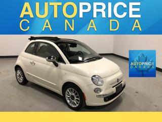 Used 2014 Fiat 500 C Lounge CABRIO|LEATHER|AUTO for sale in Mississauga, ON