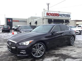 Used 2015 Infiniti Q50 AWD - NAVI - 360 CAMERA for sale in Oakville, ON