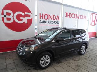 Used 2014 Honda CR-V Ex Gar for sale in St-Georges, QC