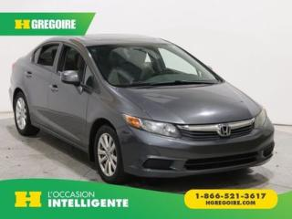 Used 2012 Honda Civic EX A/C T.OUVRANT for sale in St-Léonard, QC