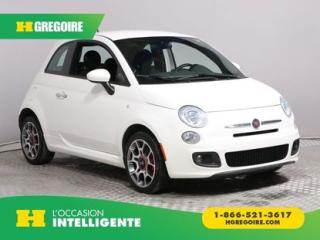 Used 2014 Fiat 500 SPORT A/C GR ELECT for sale in St-Léonard, QC