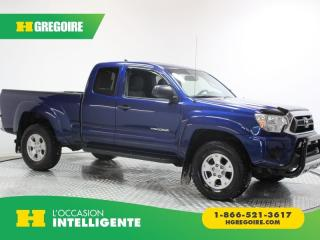 Used 2015 Toyota Tacoma AWD ACCESS CAB V6 for sale in St-Léonard, QC