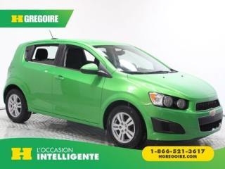 Used 2015 Chevrolet Sonic LT for sale in St-Léonard, QC