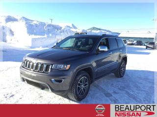Used 2018 Jeep Grand Cherokee LIMITED 4X4 ***54 933 KM*** for sale in Beauport, QC