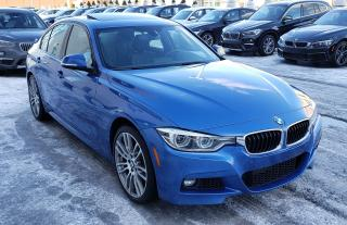 Used 2016 BMW 3 Series 340i Xdrive Rare Color Low for sale in Dorval, QC