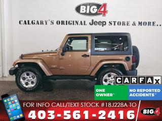 Used 2015 Jeep Wrangler Sahara for sale in Calgary, AB