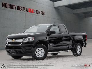 Used 2017 Chevrolet Colorado WT*4WD*Camera*AT Tires*3.6L*NO Accidents*Clean for sale in Mississauga, ON