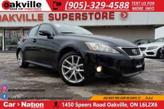 Used 2011 Lexus IS 250 AWD | NAV | BLUETOOTH | HEATED SEATS | B/U CAM for sale in Oakville, ON
