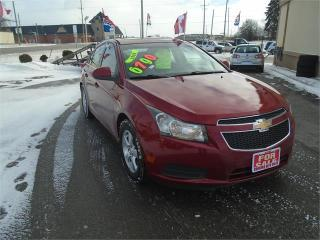 Used 2011 Chevrolet Cruze LT Turbo+ w/1SB for sale in Breslau, ON