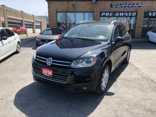 Used 2014 Volkswagen Touareg 3.0 TDI Highline/RLINE/NAVI/PANO ROOF for sale in North York, ON