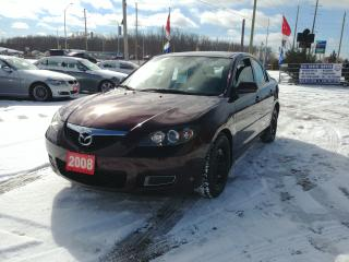 Used 2008 Mazda MAZDA3 GS *Ltd Avail* for sale in Barrie, ON