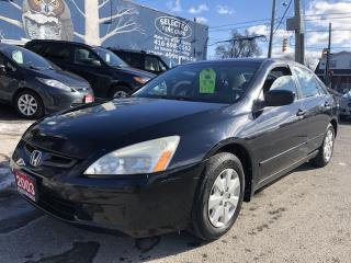 Used 2003 Honda Accord Sdn LX-G for sale in Toronto, ON