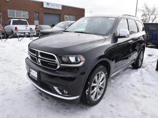 New 2019 Dodge Durango Citadel|HEMI|TECH GRP|NAV|REAR DVD|HITCH|SAFETYTEC for sale in Concord, ON