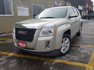 Used 2015 GMC Terrain SLE-REVERSE CAMERA-BLUETOOTH-INFO SYSTEM. for sale in Tilbury, ON