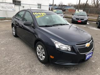Used 2014 Chevrolet Cruze 2LS for sale in St Catharines, ON