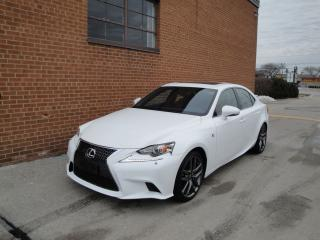 Used 2014 Lexus IS 250 F SPORT /NAVI /BACKUP CAMERA /LEATHER SEAT for sale in Oakville, ON