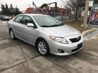 Used 2009 Toyota Corolla 118k,LE,ALLOYS,PUSH START,safety+3rs waranty inclu for sale in Toronto, ON