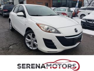 Used 2010 Mazda MAZDA3 GX | MANUAL | NEW CLUTCH | NO ACCIDENTS for sale in Mississauga, ON