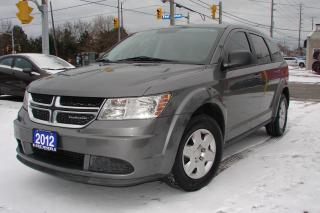 Used 2012 Dodge Journey SE Plus for sale in Mississauga, ON