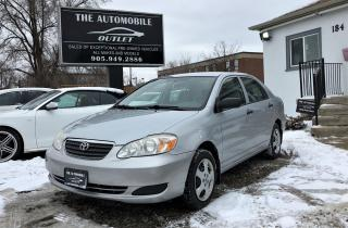 Used 2007 Toyota Corolla CE low kms for sale in Mississauga, ON