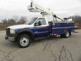 Used 2007 Ford F-550 40 FOOT BUCKET TRUCK WITH SERVICE BODY for sale in Brantford, ON