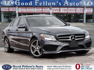 Used 2015 Mercedes-Benz C 300 4MATIC, AUTOMATIC TRANSMISSION, PANORAMIC ROOF for sale in Toronto, ON