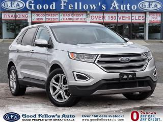 Used 2017 Ford Edge TITANIUM, AWD, LEATHER SEATS, HEATED SEATS, 6CYL for sale in Toronto, ON
