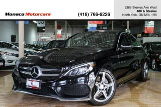 Used 2016 Mercedes-Benz C-Class C300 - BLINDSPOT|AMG|PANO|NAVI|BACKUP for sale in North York, ON