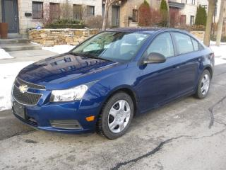 Used 2013 Chevrolet Cruze LS, CERTIFIED, NO ACCIDENTS, LOW KMS for sale in Toronto, ON
